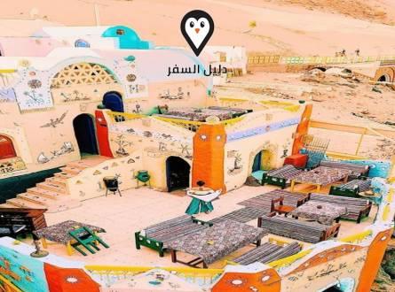فندق حدوتة مصرية اسوان – بيت ضيافه علي الطراز النوبي في اسوان