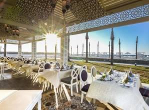 مطاعم فندق ريكسوس العلمين