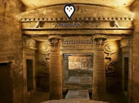 مقابر كوم الشقافة – مقابر اثرية من العصر الروماني في الاسكندرية