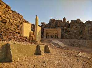 معبد أبو سمبل من أسوان بالطيران- صن بيراميدز
