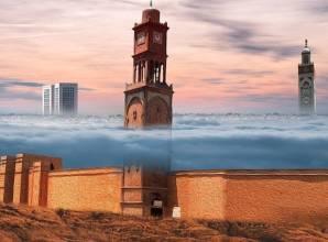 باب مراكش في المغرب..يعبر بك لمدينة من العصور الوسطى