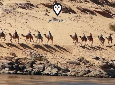 الاماكن السياحية فى اسوان.. عندما تتنافس الطبيعة والتاريخ على خطف قلبك