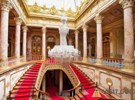 اين يقع  قصر دولمة بهجة في اسطنبول  و ماهى الانشطة المتاحة فى قصر دولما