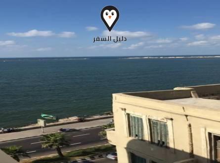 فندق عبير بالاسكندريه – البحر المتوسط امام شرفتك مباشرة