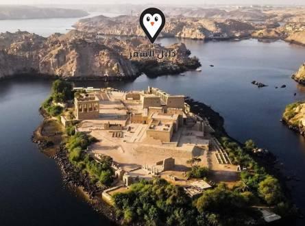 فنادق اسوان – إطلالة النيل الساحرة مع امتزاج الطبيعة