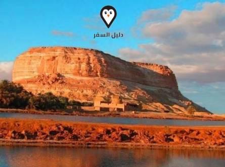 جبل الدكرور بواحة سيوة – أثر فرعوني مهم وعلاج طبيعي للأمراض