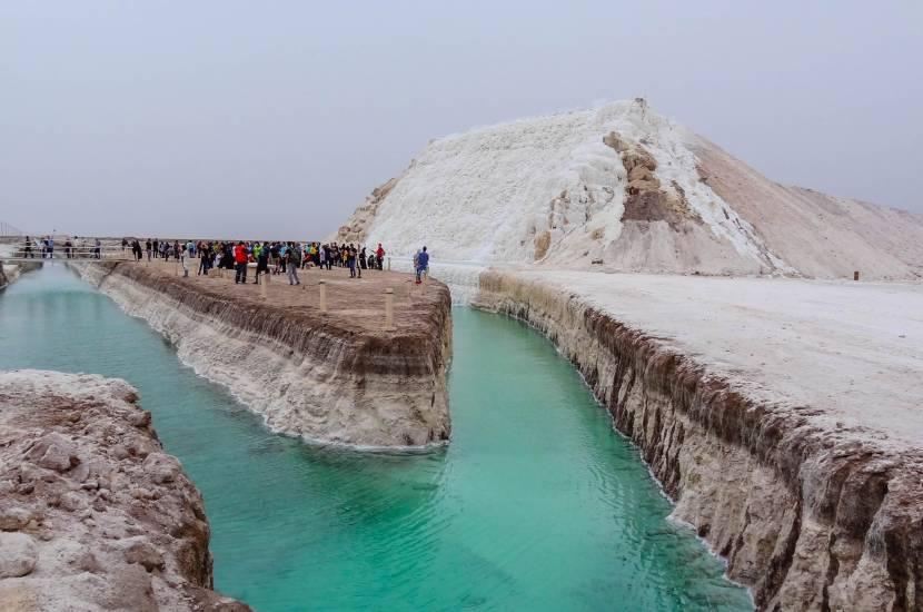 Salt cave in Taba