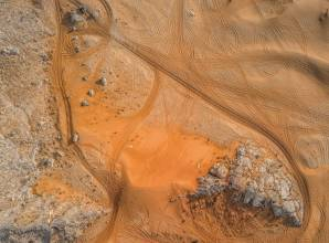 Hurghada desert