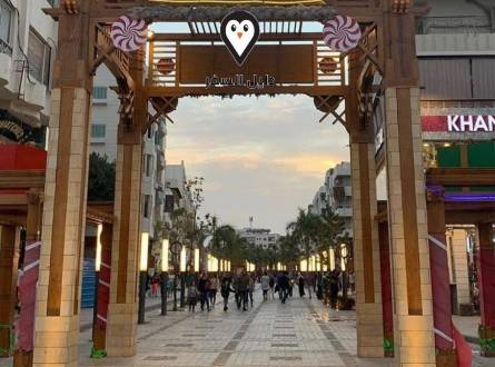 شارع شيري الغردقة اشهر ممشى سياحى وأهم المنتزهات بمدينة الغردقة