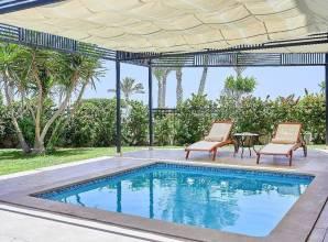 Hotel inside pool