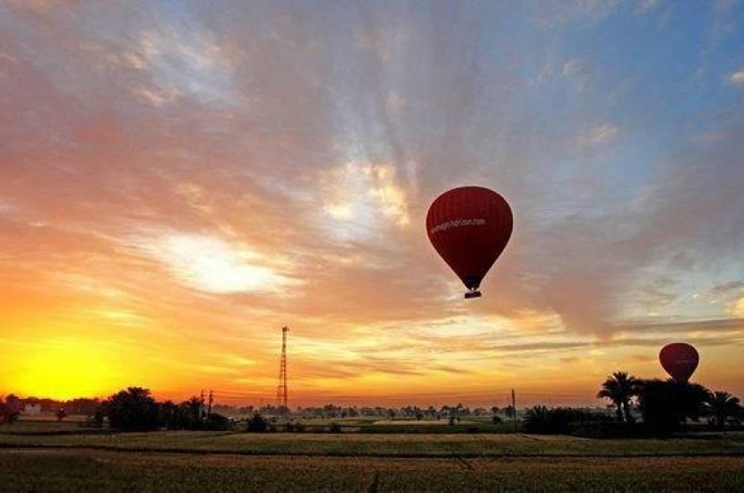 Luxor balloon trip