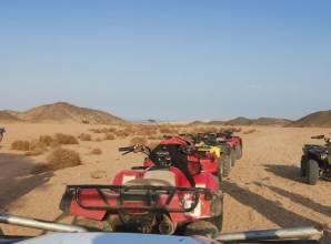 سفاري بدراجة رباعية من مرسى علم - Sun Pyramids