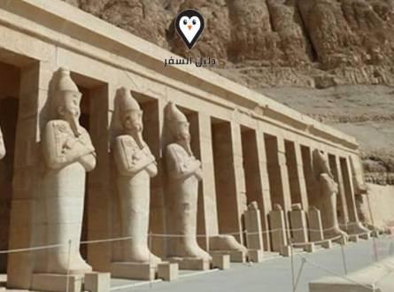 معبد الدير البحري – أكتشف تاريخ وحضارة مصر العريقة
